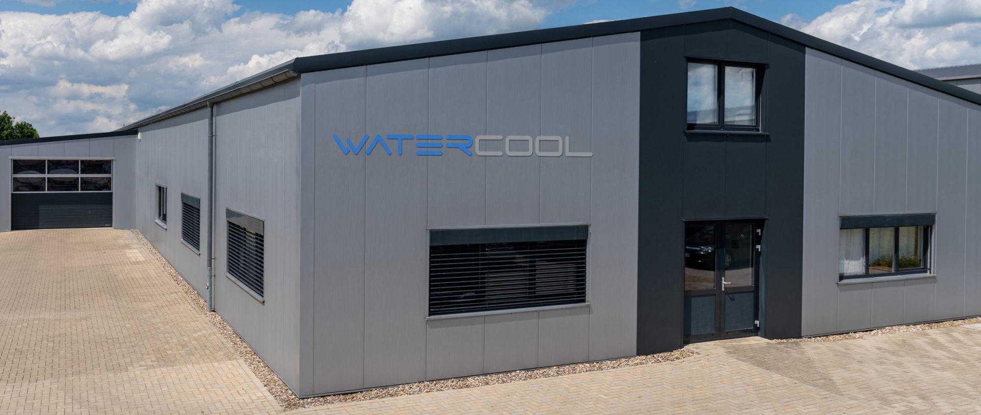 Gebäude von Watercool