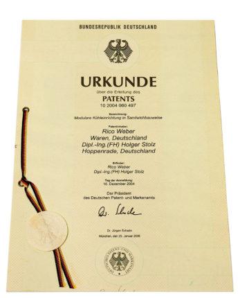 Watercool Patent für Kühler
